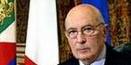 Il messaggio del Presidente Giorgio Napolitano